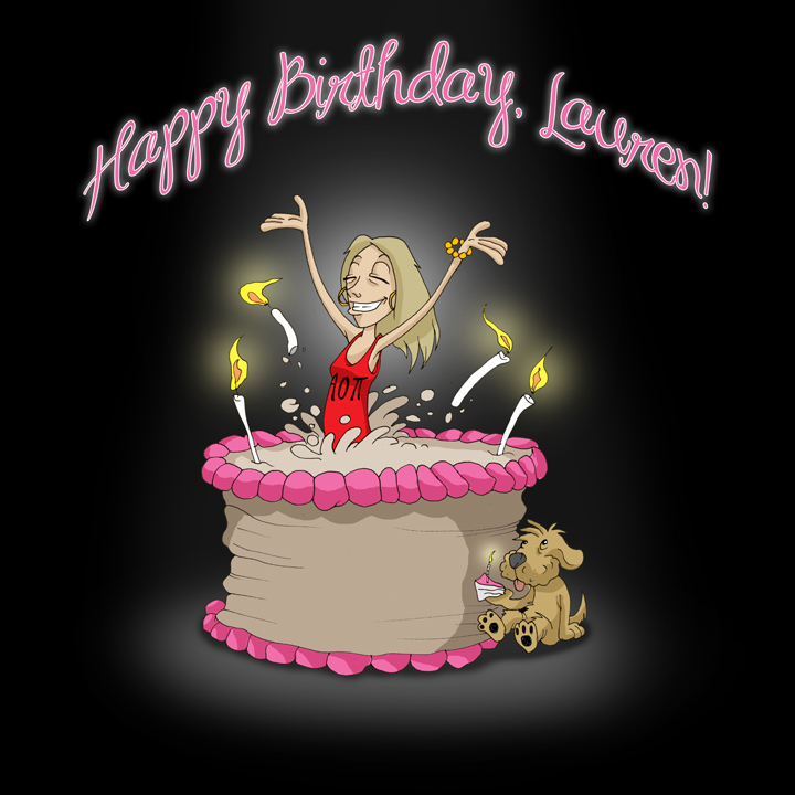 Happy Birthday, Lauren!