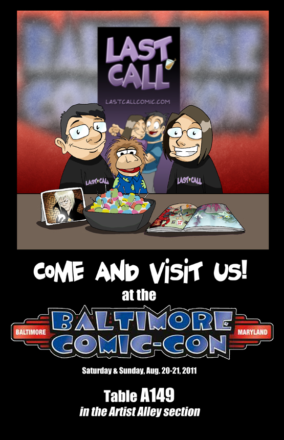 See you at Baltimore Comic-Con!