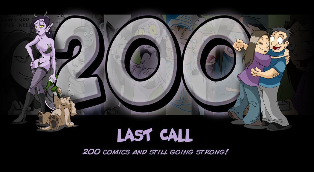 200 comics!